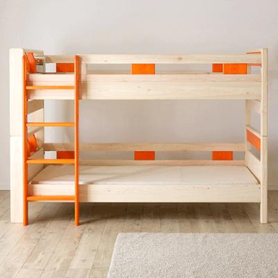 身体にやさしい安心の国産二段ベッドをご紹介♪