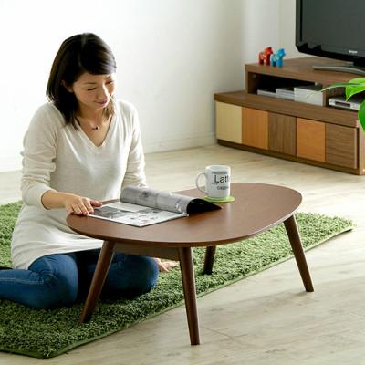 ウォールナット使用の木目調センターテーブルを4タイプご紹介!