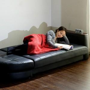 狭い部屋でも大丈夫!ソファベッドでコンパクトに快適なお部屋へ