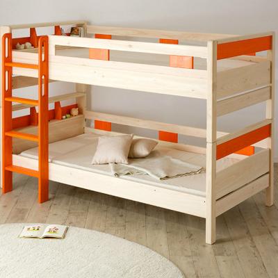 お子さまを地震から守る安心安全な二段ベッド選び