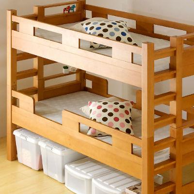 無理なく使える!おすすめな小さいサイズの二段ベッド | 家具通販