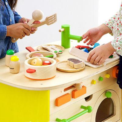 お子さまの想像力を育む本物志向のままごとキッチン