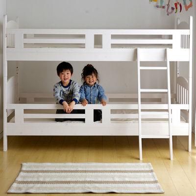 おすすめ!白い二段ベッドをご紹介!