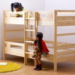 こだわり抜いたオススメの木製二段ベッドを紹介