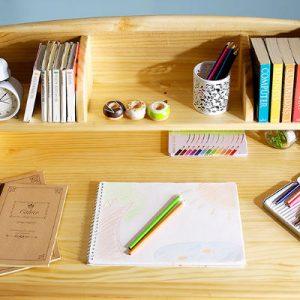 おすすめのナチュラルテイストの学習机をご紹介!