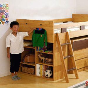学習机とベッドがワンセット!システムベッドをご紹介