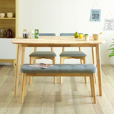 スタイリッシュなベンチ付きダイニングテーブル特集