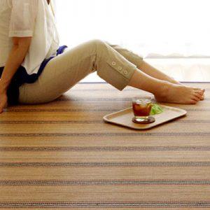 暑い夏でもひんやりの竹カーペットをご紹介