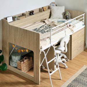 機能的で快適な空間に!大人にとっても使いやすいシステムベッド5選