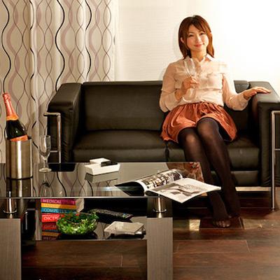 ガラステーブル WINE(ワイン) 105cm幅 120cm幅 6色対応