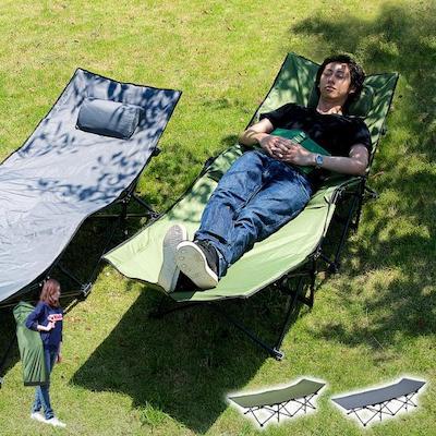 アウトドア 折りたたみベッド SUNSHINE BED(サンシャインベッド) 2色対応