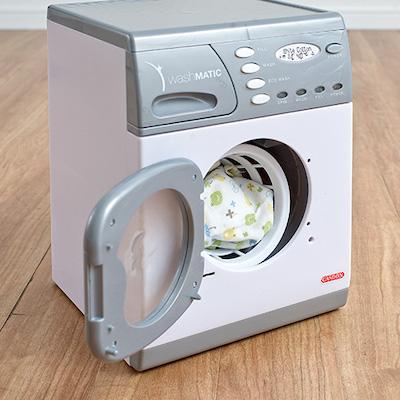 おままごと CASDON 電動式洗濯機 ドラム式 おもちゃ