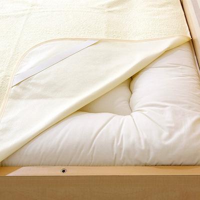 おねしょ対策 シングルサイズ 防水シーツ 約105×205cm 日本製