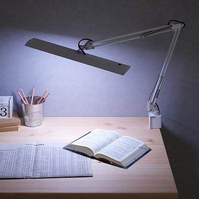 無段階調光式 LED デスクライト Z−10N 3色対応 角度調整機能