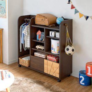 キャスター付きで楽に移動できる収納家具3選