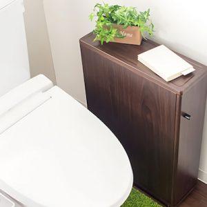 トイレをおしゃれに彩るおすすめ収納3選