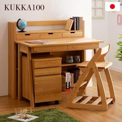 国産 組替えデスク KUKKA(クッカ) アルダー無垢材使用 杉工場