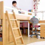 システムベッド 学習机で子供部屋を有効活用