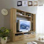 壁面収納でお部屋がすっきり!ハイタイプテレビボードの魅力