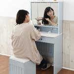 ドレッサーの選び方で重要なポイントは鏡・機能・収納・スツールの4つ!