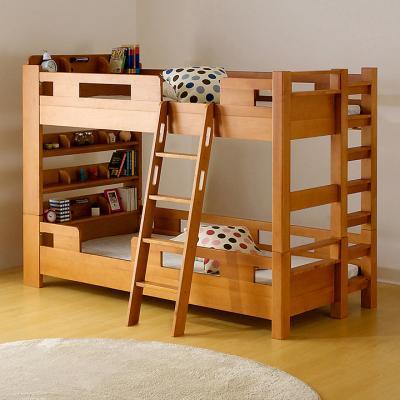 業務用 宮付き コンパクト 二段ベッド G☆SOLID Mini H147cm 梯子有