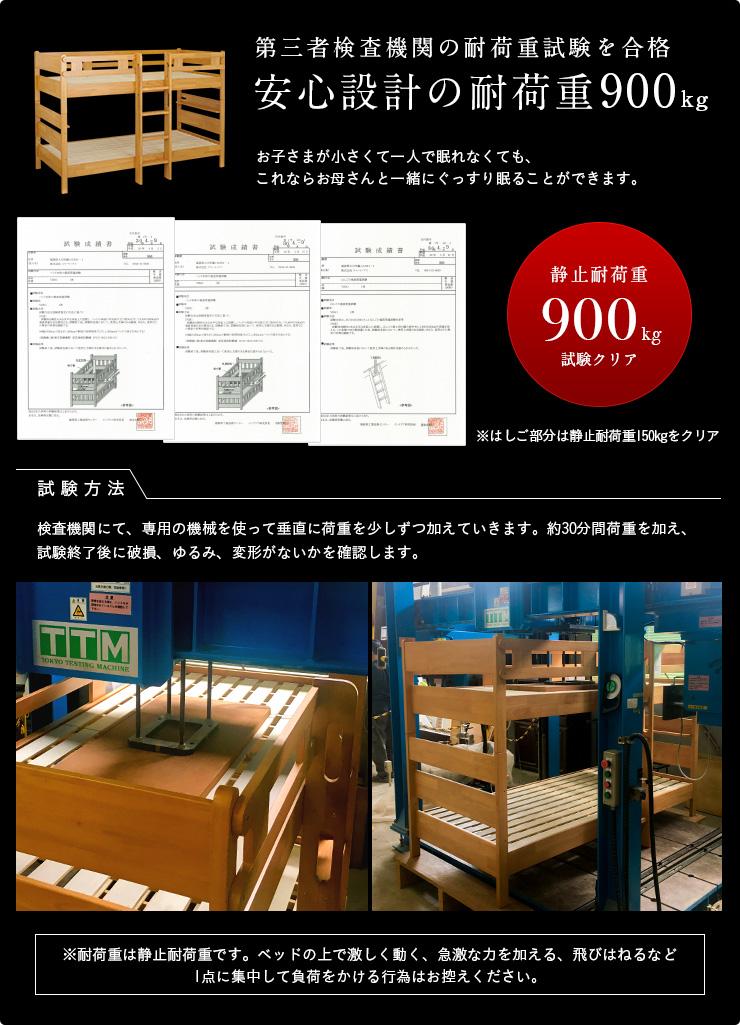 6b69204255 キングベッドにもなる3Way 二段ベッド VIBO3(ヴィーボ3) 超耐荷重900kg 2 ...